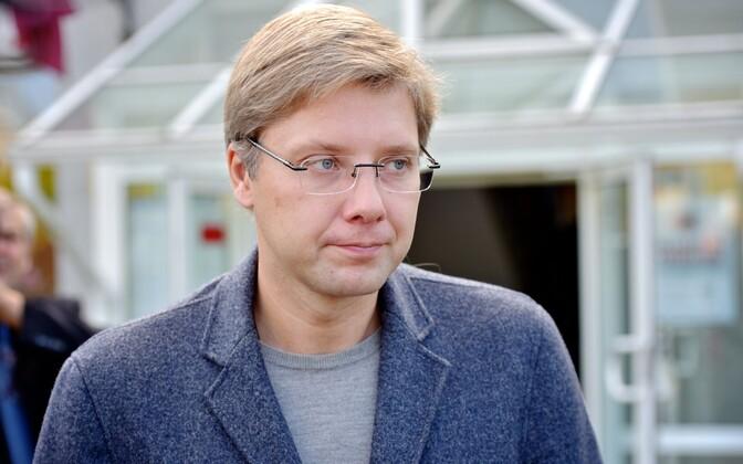 Mayor of Riga Nils Ušakovs.