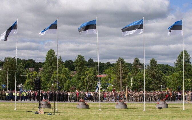 Victory Day parade in Rakvere. June 23, 2017.
