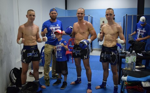 Eesti sportlased Tais