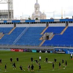 Portugali jalgpallikoondis treeningul