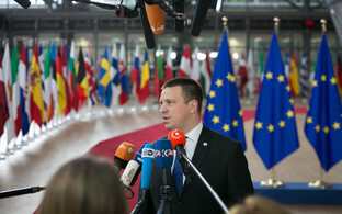 Prime Minister Jüri Ratas at the two-day European Council on June 22-23.