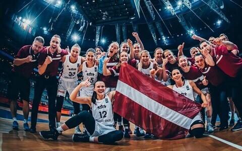 Läti naiste korvpallikoondis