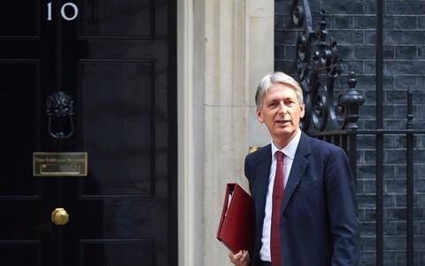 Министр финансов Великобритании Филип Хаммонд.