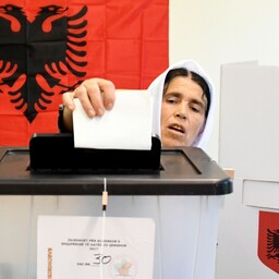 Valimised Albaanias.