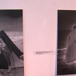 Экспонаты выставки в Пярну.