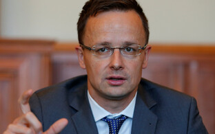 Ungari välisminister Péter Szijjártó.