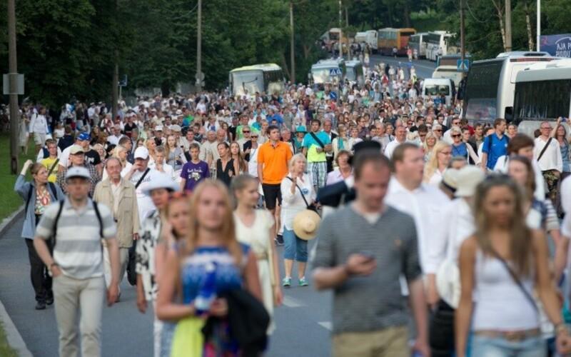 Скопление большого количества людей существенно повлияет на движение в Таллинне.