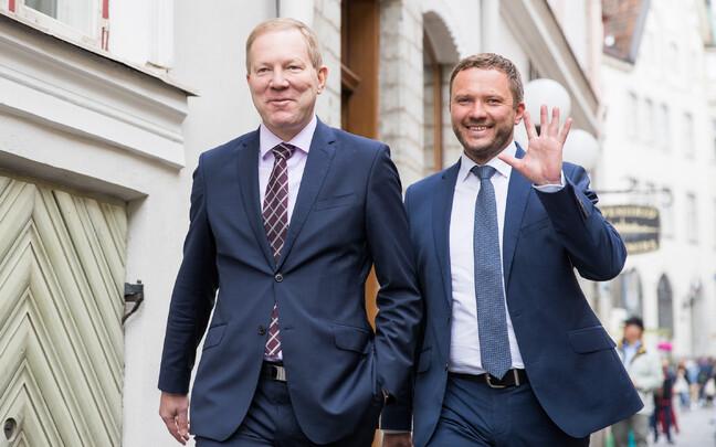 Марко Михкельсон (слева) и Маргус Цахкна.