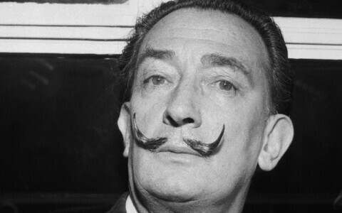 Salvador Dali 1958. aastal.