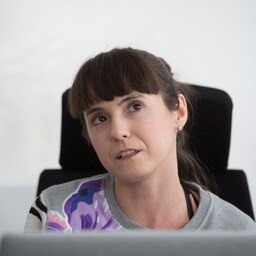 Eesti kunstnik Katja Novitskova.