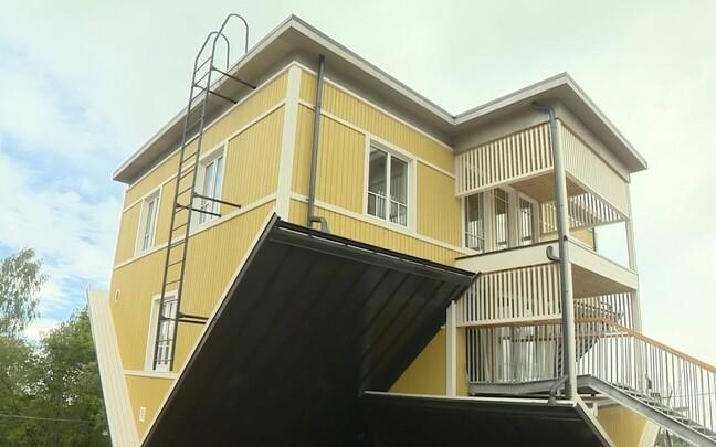 Перевернутый дом в Тарту