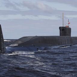 Venemaa Borei-klassi allveelaev Juri Dolgoruki.