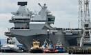 Ühendkuningriigi uus lennukikandja HMS Queen Elizabeth alustas esimest proovisõitu.