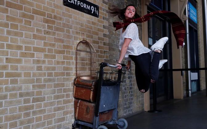 Лондон отметил 20 лет с момента издания первой книги о Гарри Поттере.