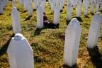 Мемориальный комплекс по погибшим в Сребренице.