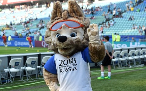 Официальный талисман чемпионата мира по футболу 2018 - волк Забивака