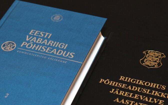 Põhiseaduse kommenteeritud väljaanne.