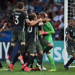 Võidukas Saksamaa U-21 jalgpallikoondis