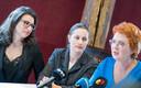 Слева направо: Ольга Иванова, Оудекки Лооне и Яна Тоом.