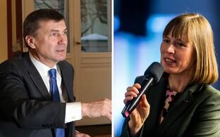 Andrus Ansip ja Kersti Kaljulaid