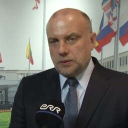 Minister of Defence Jüri Luik in Brussels. June 29, 2017.
