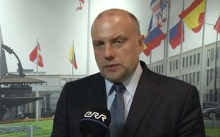 Minister of Defence Jüri Luik in Brussels. June 29, 2017.