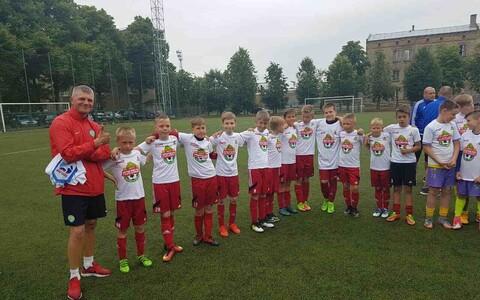 Нарвские юные футболисты теперь поедут в Москву.