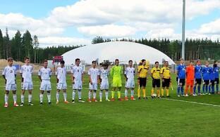 Eesti ja Läti U-17 jalgpallikoondised