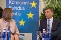 President Kersti Kaljulaidi ja Euroopa Komisjoni asepresidendi Andrus Ansipi debatt.
