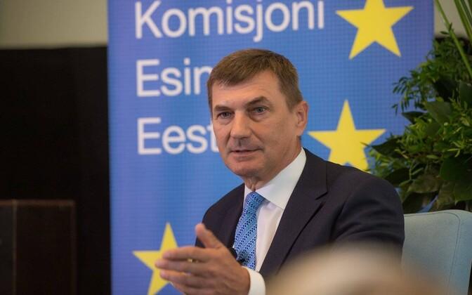 Тоом обвиняет Ансипа во вмешательстве в эстонскую политику вопреки кодексу поведения членов Еврокомиссии.
