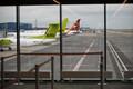 Airport expansion at Tallinn Airport. June 30, 2017.