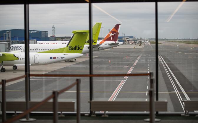 Обновленный Таллиннский аэропорт.