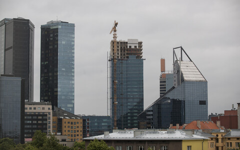Construction in Tallinn.