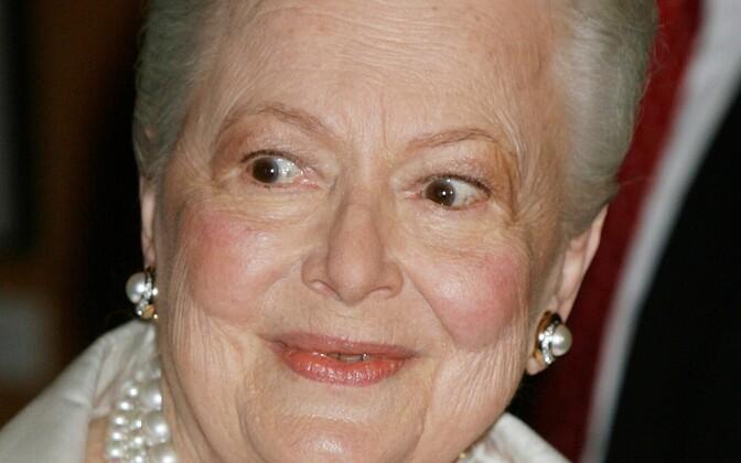 Olivia de Havilland 2006. aastal