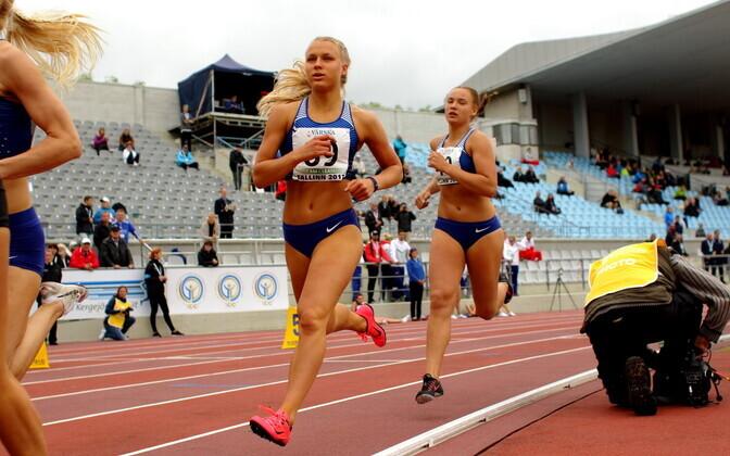 Mitmevõistluse võistkondlik MM / Margit Kalk