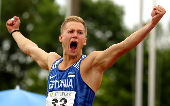Mitmevõistluse võistkondlik MM / Janek Õiglane