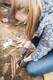 Taimejuuri ei tohi mitte mingil juhul välja tõmmata, vaid puhastamise käigus pidevalt lühemaks lõigata. Tõmmates võib juhtuda, et koos juurtega tuleb kaasa ka luustik, mis võib omakorda katki minna.