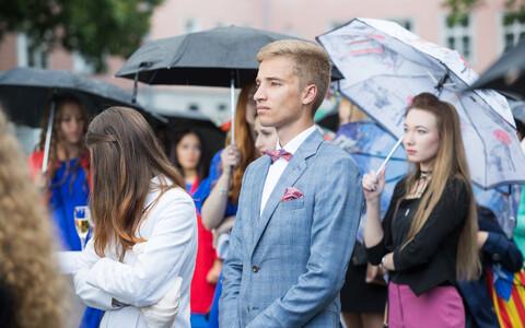 Прием в честь лучших выпускников Эстонии.