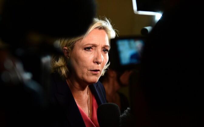 Rahvusrinde juht Marine Le Pen.