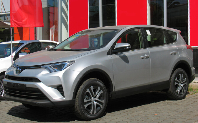The most popular SUV in the first half of 2017: Toyota's RAV4.
