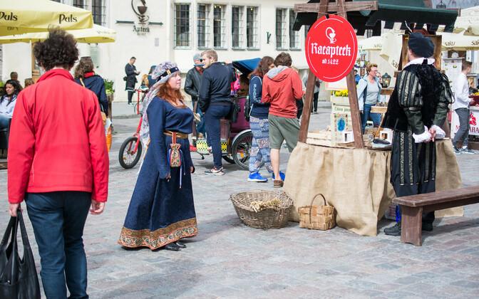 Дни средневековья в Таллинне.
