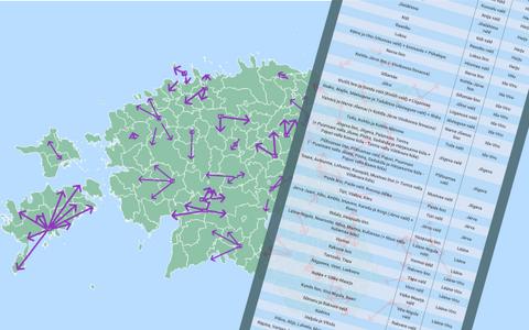 Eestis on nüüd varasema 213 omavalitsuse asemel 79.