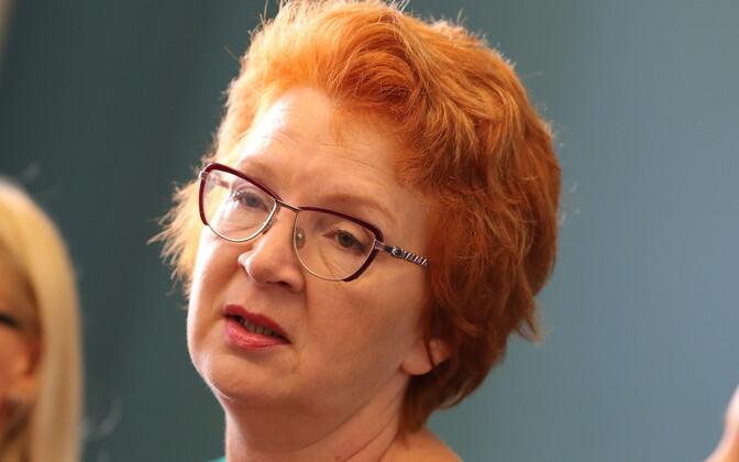 На пресс-конференции в Таллинне Яна Тоом объявила, что не станет участвовать в создании отдельного избирательного списка.