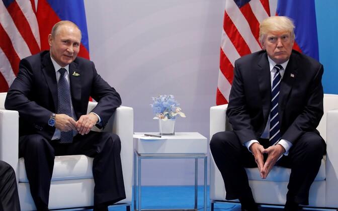 Путин иТрамп обсудили государство Украину