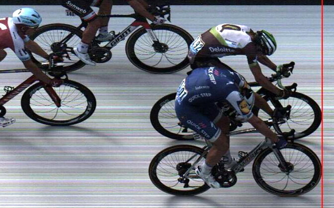 Tour de France'i 7. etapi fotofiniš