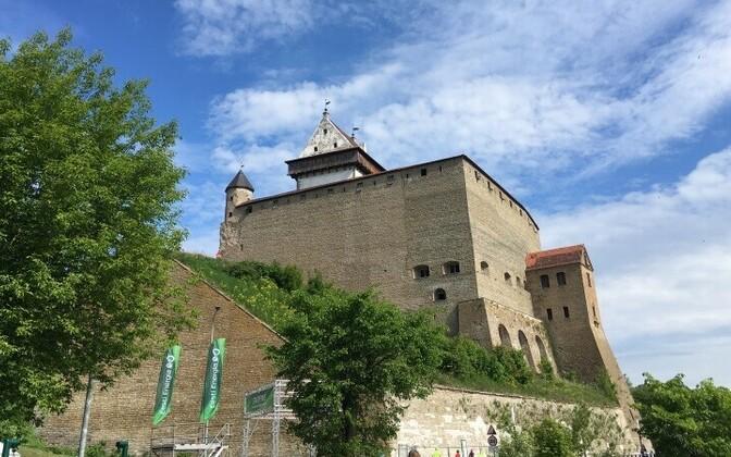 Нарва - один из туристических центров региона.