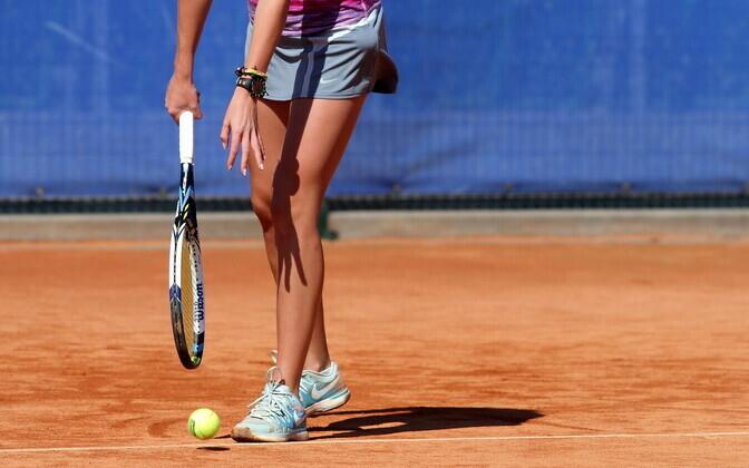 Чемпионат Эстонии по теннису продлится до конца недели.