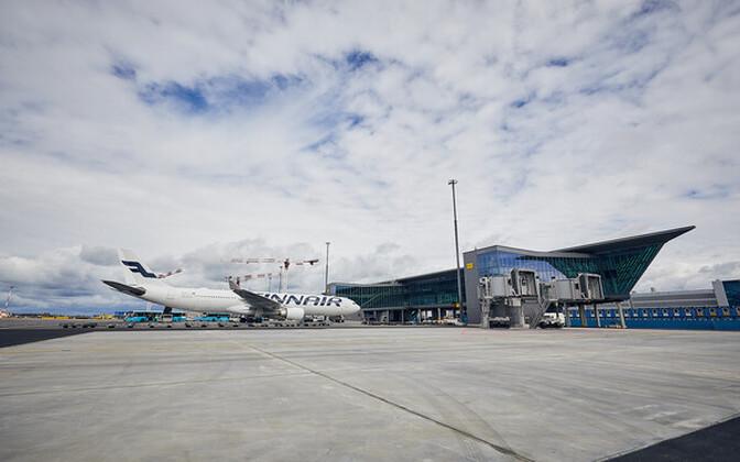 Аэропорт в Хельсинки.
