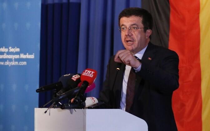 Türgi majandusminister Nihat Zeybekci.