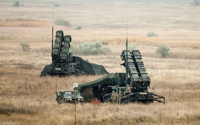 The U.S.' Patriot missile defense system at an exercise in Romania. November 2016.